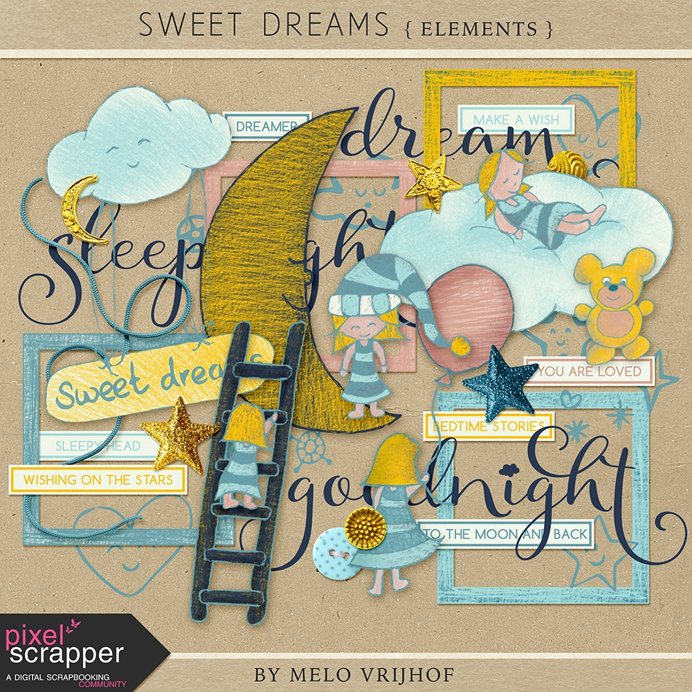 sweet-dreams-elements-kit-sleep-dream-bedtime-night-pencil-drawings-yellow-teal-light-blue-navy(1)