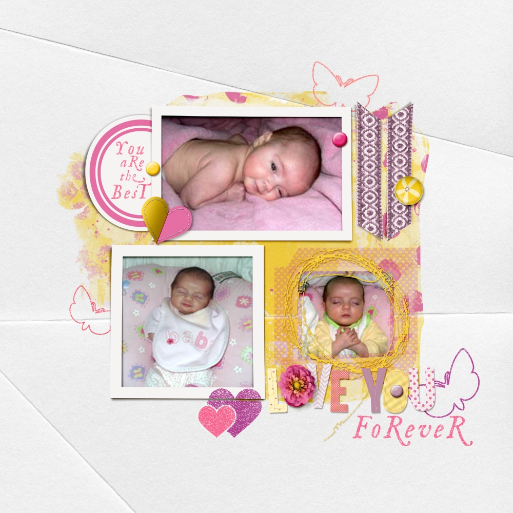 love-you-forever-baby-layout-april-2016-challenge-everything-baby-girly-yellow-purple-pink-light