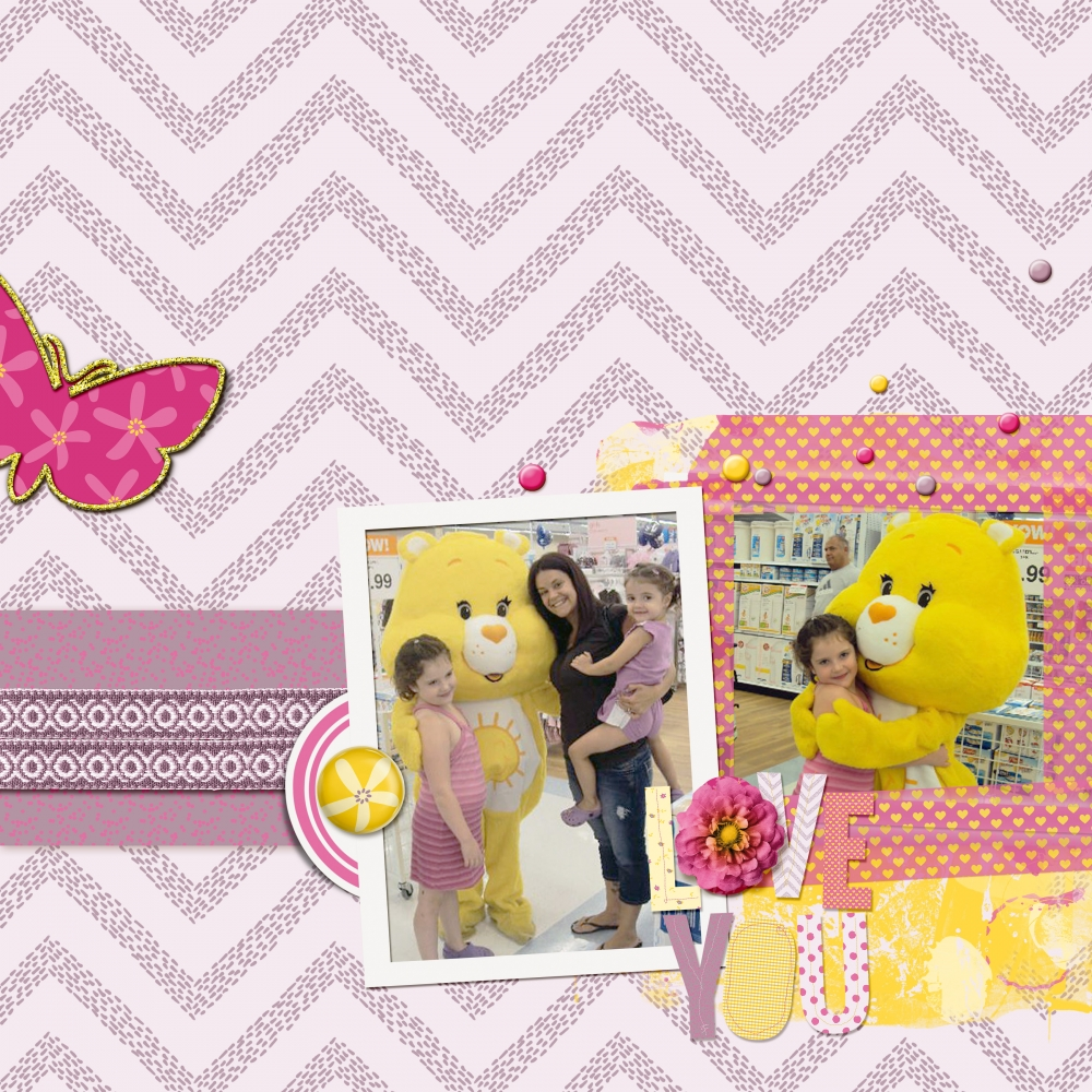 love-you-sunshine-bear-layout-care-bear-family-daughters-girly-cute-yellow-purple-pink