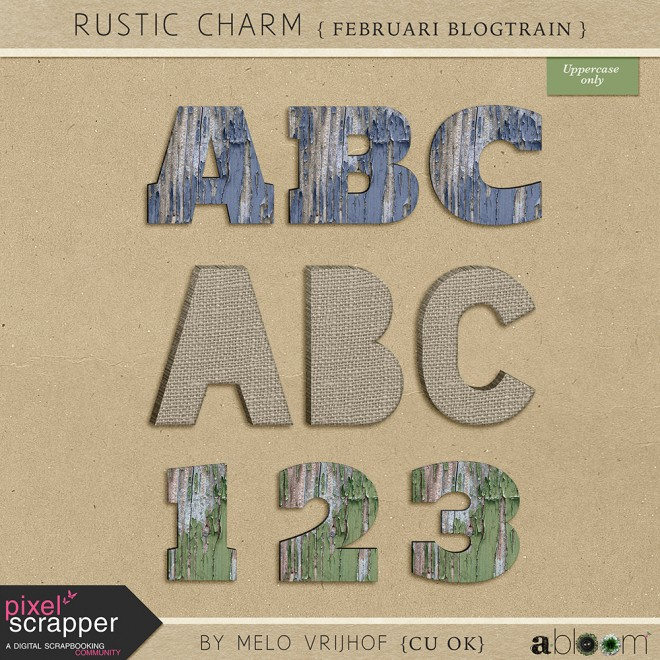 Februari Blogtrain: Rustic Charm