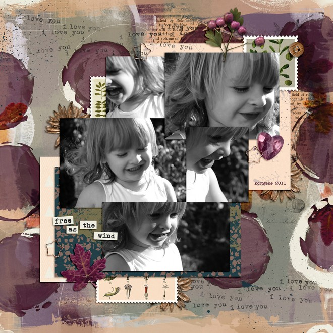 Scraplifting your own layouts